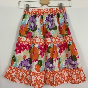 Gymboree Bottoms - Gymboree long flower skirt size 6